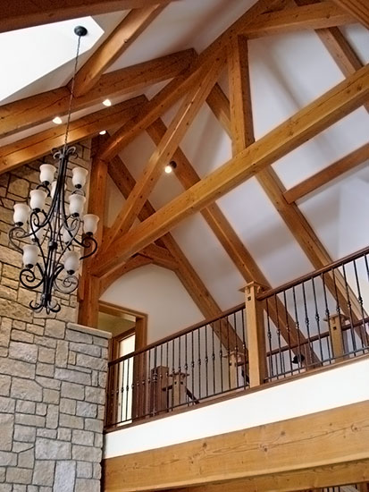 Great Room Pittsburgh PA Houses Timber Frame Home