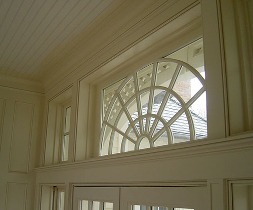 Transom Window Russell Township Ferguson Shamamian Architects