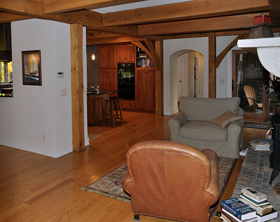 Morning Room Chardon OH Houses Timber Frame Home